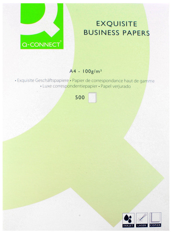 Q Connect A4 100gsm Exquisite Business Paper - 500 Sheets