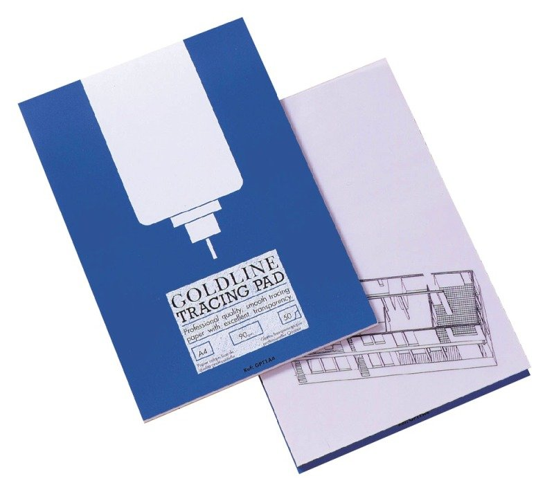 Goldline Tracing Pad Professional A4
