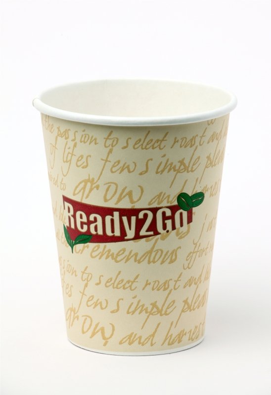 NUPIKFLO READY TO GO 12OZ PAPER CUP PK50