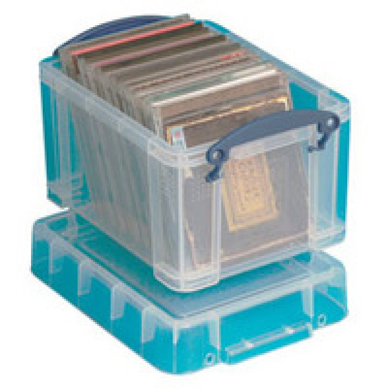 REALLY USEFUL 3 LTR BOX WITH LID CLR 3C