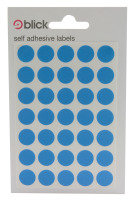 Blick Label Bag 13Mm Blue Pk140 003953 - 20 Pack