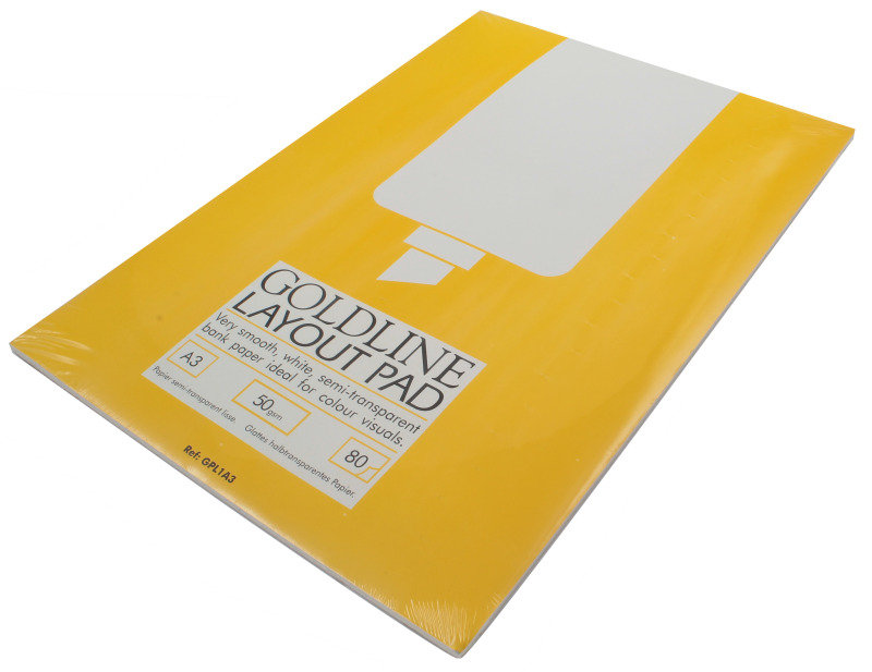 Image of Goldline Layout Pad A3