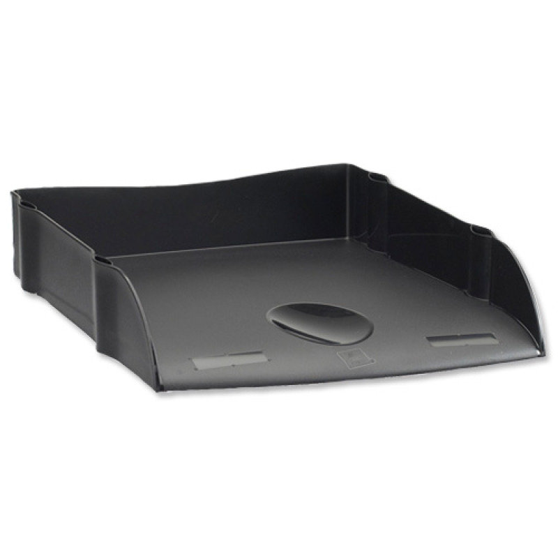 AVERY DESKTOP LETTER TRAY BLACK DR100BLK