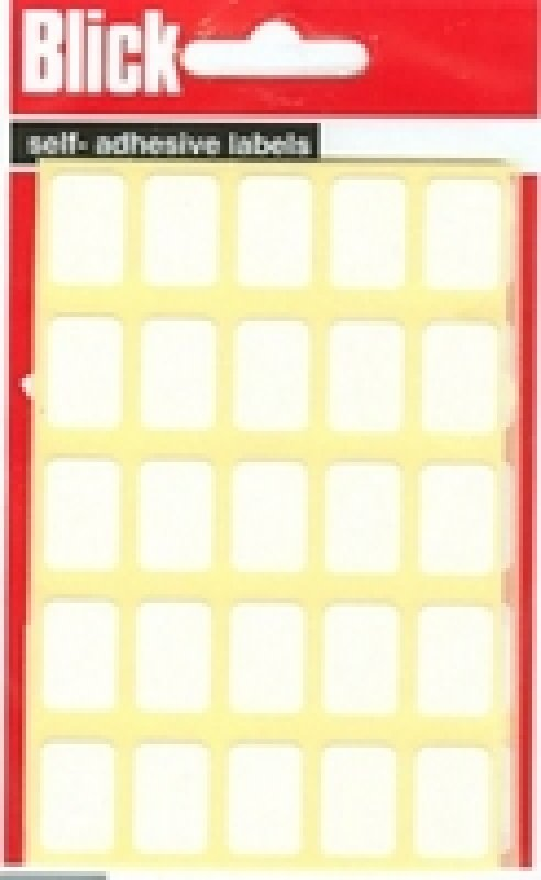 Image of Blick Label Bag 12x18 Wht Pk175 002758 - 20 Pack
