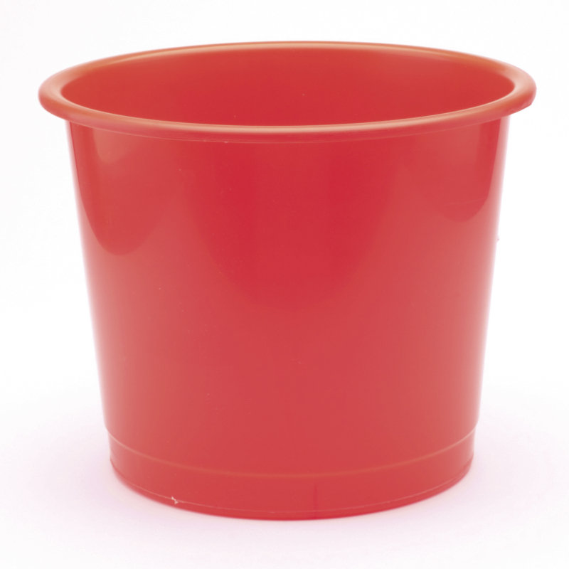 Q-Connect 15 Litre Waste Bin - Red