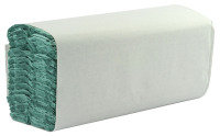 Extra Value C-Fold 1 Ply Green Hand Towels - 2944 Pack