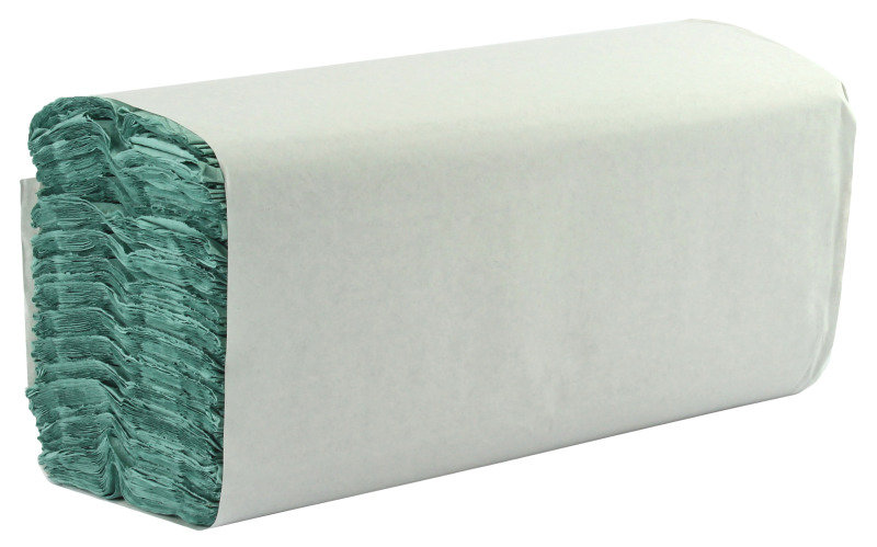 Extra Value CFold 1 Ply Green Hand Towels  2944 Pack