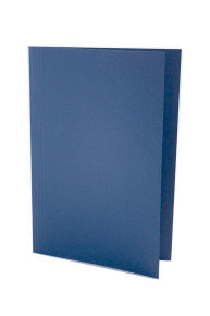 Guildhall Squarecut Folder 250gm Blue - 100 Pack