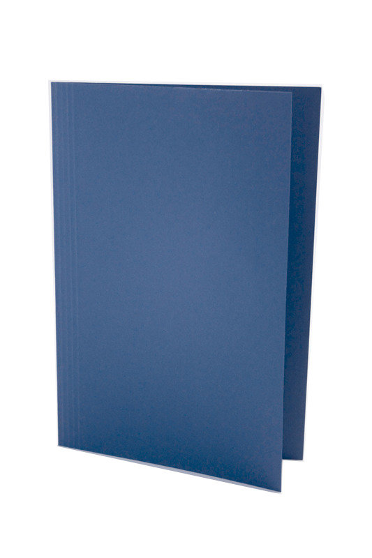 Guildhall Squarecut Folder 250gm Blue - 100 Pack