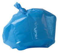2Work Refuse Sack 100g Blue (Pack of 200)