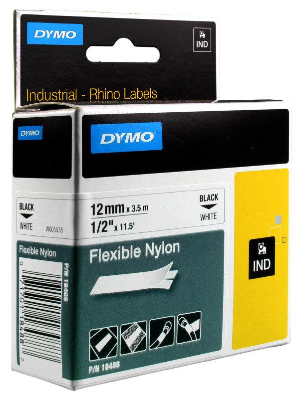 DYMO TAPE ID1-12-1300 WHITE