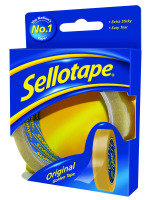 Sellotape 24mmx50m Golden Tape - 6 Pack