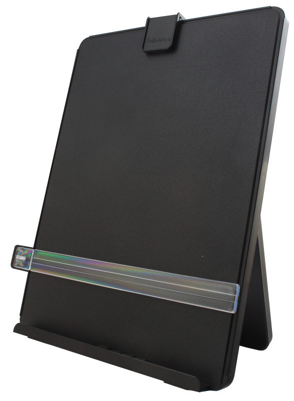 Fellowes Workstation Document Holder - Black