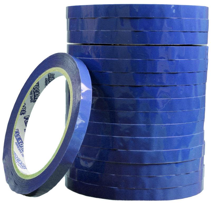 Image of FLEXOCARE TAPE VINYL 9MMX66M PK16 BLUE