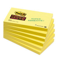 Postit 655 Super Sticky Canary Ylw - 12 Pack