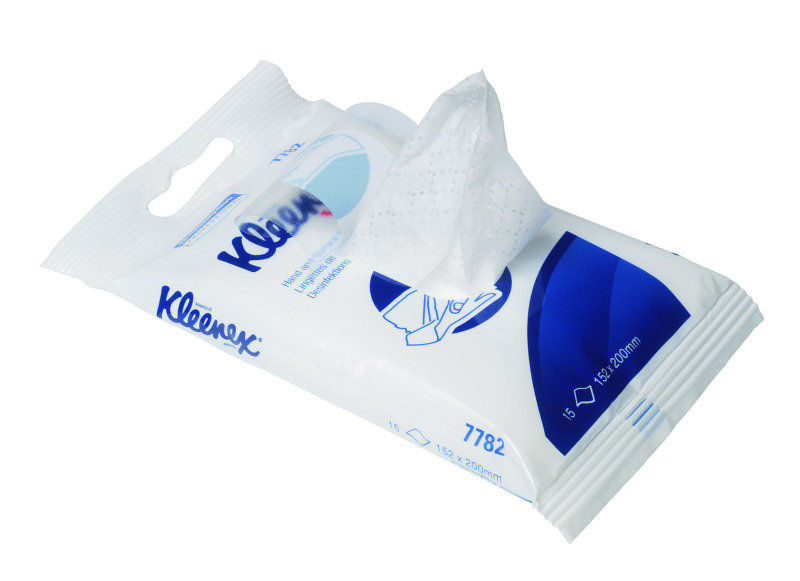 Image of KLEENEX HAND/SURFC SAN WIPES FLOW PK WHT
