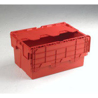ATTACHED LIDDED BOX RED 375816