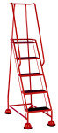 VFM Red 5 Tread Step (Pack of 1)