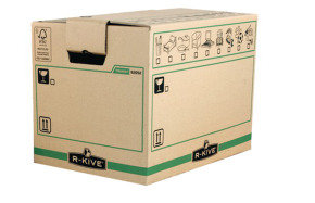 Fellowes R-Kive Transit X-Large Moving Box - 5 Pack