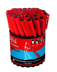 Berol Handwriting Pen Assorted Tub (Pack of 36)