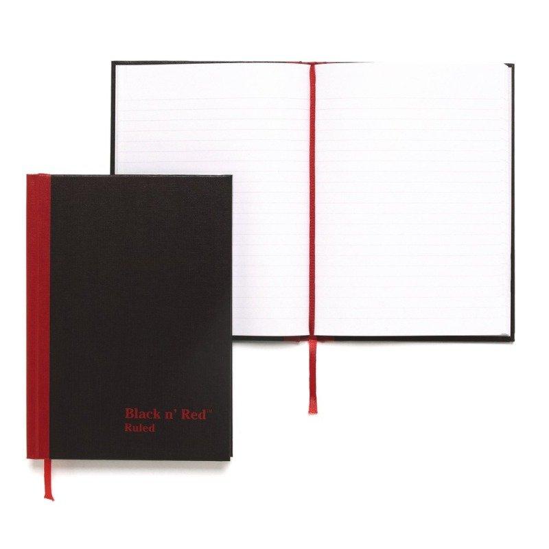 Blk N Red Manubk A6 Ft 100080429 - 5 Pack