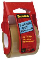 SCOTCH PACK TP EZST DSPNSR 50MMX20M CLR