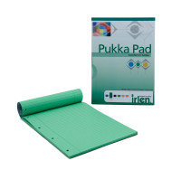 Pukka A4 Refill Pad Green - 6 Pack