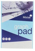 Silvine Refill Pad A4 50lf Graph Mm A4gp - 12 Pack