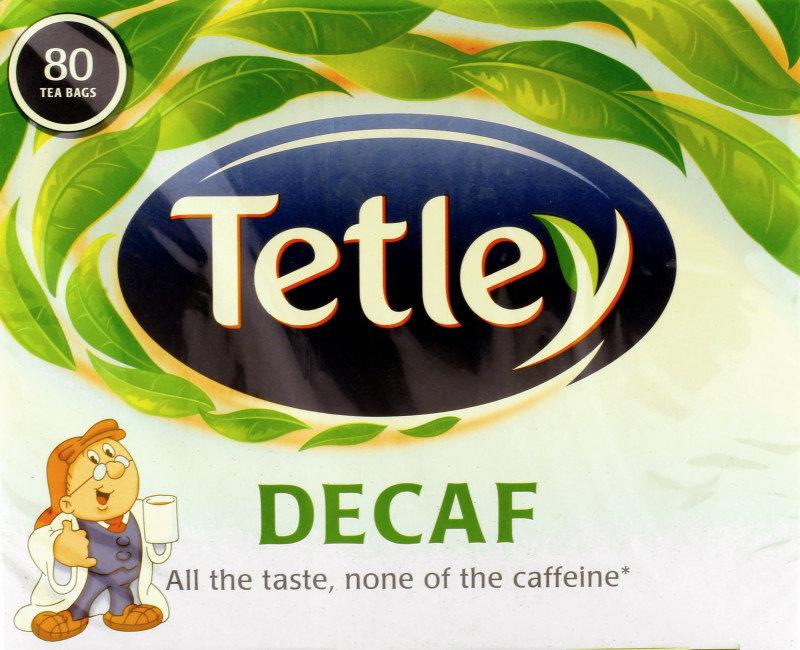 Tetley Decaf Tea Bags - 80 Pack
