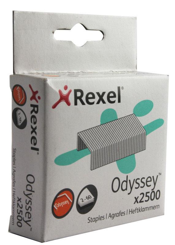 REXEL STAPLES 2-60 H/DUTY PK2500 2100050