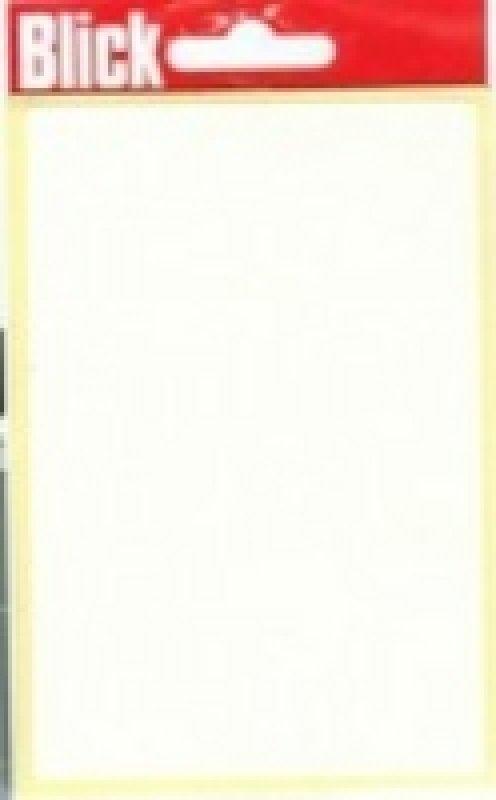 Blick Label Bag 80x120 Wht Pk7 004059 - 20 Pack