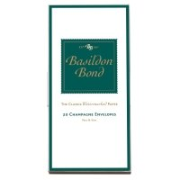Basildon Bond Env Medium Champagne Pk20 - 10 Pack