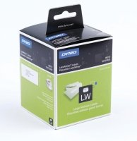 DYMO Large White Adress Labels - 89x36mm 2 Rolls (260x2) In