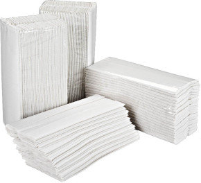 2Work White 2-Ply C-Fold Hand Towels  (Pack of 2355)