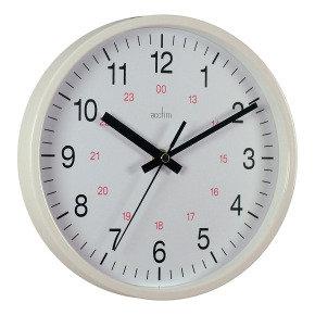 ACCTIM METRO 14INCH WALL CLOCK WHT 21202