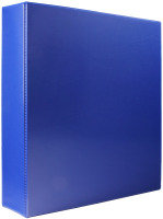 Wb Pres Binder 4 D Ring Blu 40mm - 10 Pack