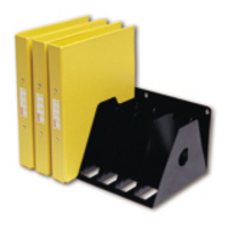 Rotadex A4 Ringbinder Filing Rack Black
