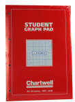 Chartwell Graph Pad A4 Red