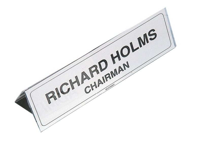Name Holder 210x65mm Transparent Ibnp2 - 5 Pack