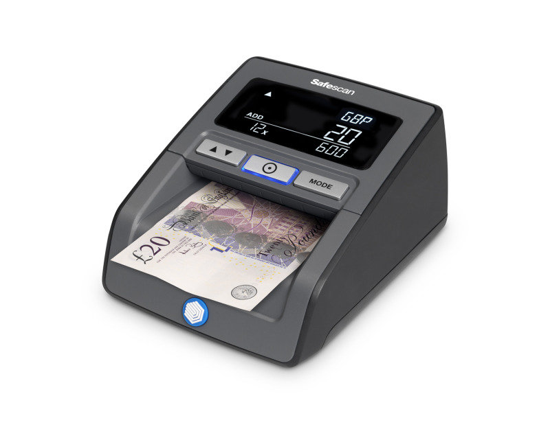 Safescan Auto Counterfeit Detector 155-S Black