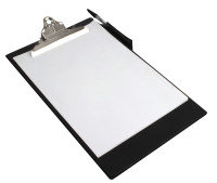 Rapesco Heavy Duty Clipboard, A4/Foolscap (black)