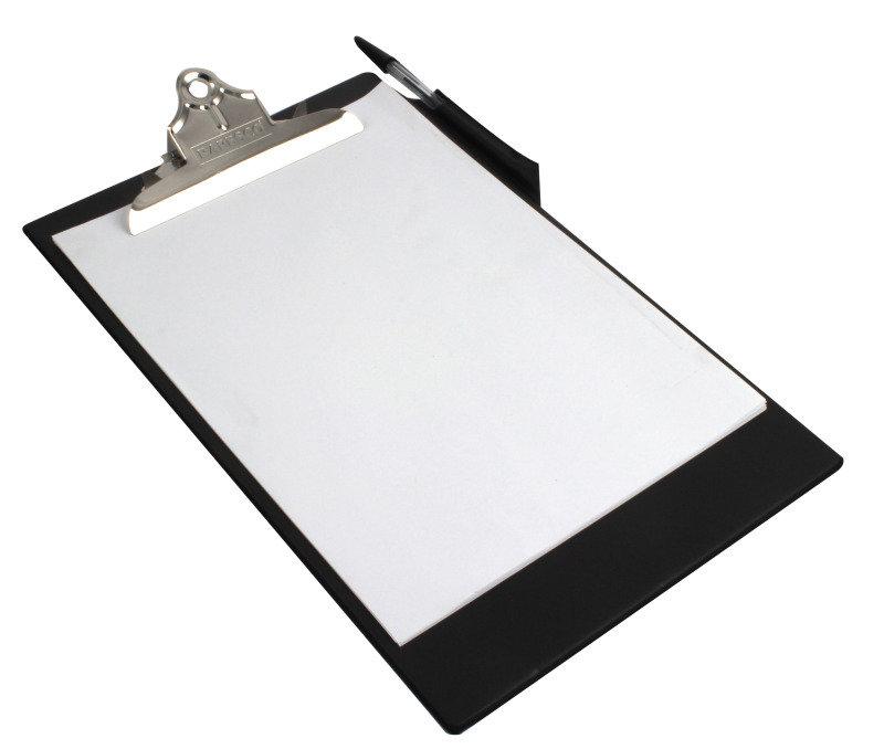 Rapesco Heavy Duty Clipboard, A4/Foolscap (black)