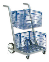 VERSPAK MAJOR MAIL TROLLEY SILVER MT2