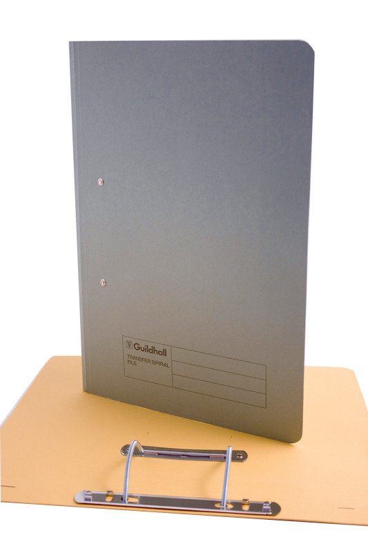 Guildhall Transfer File 275g Grey - 25 Pack