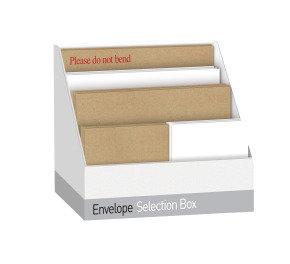 Blakes Envelope Selection Box Assorted White/Manilla