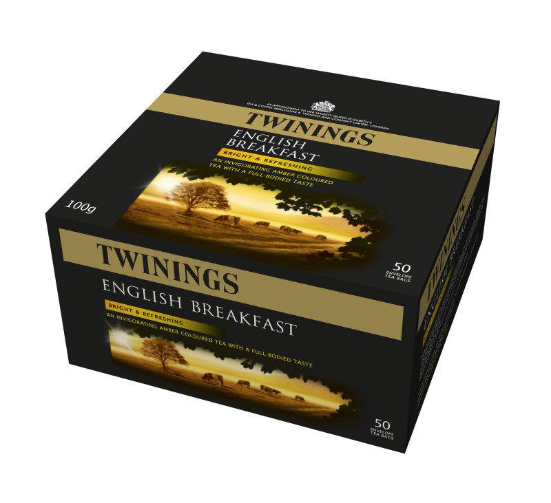 Twinings English Breakfast Envelope Tea Bag - 300 Pack