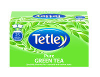 Tetley Pure Green Drawstring Envelope Tea Bag - 150 Pack