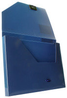 SNOPAKE DOCUMENT BOX 25 DARK BLUE 12845