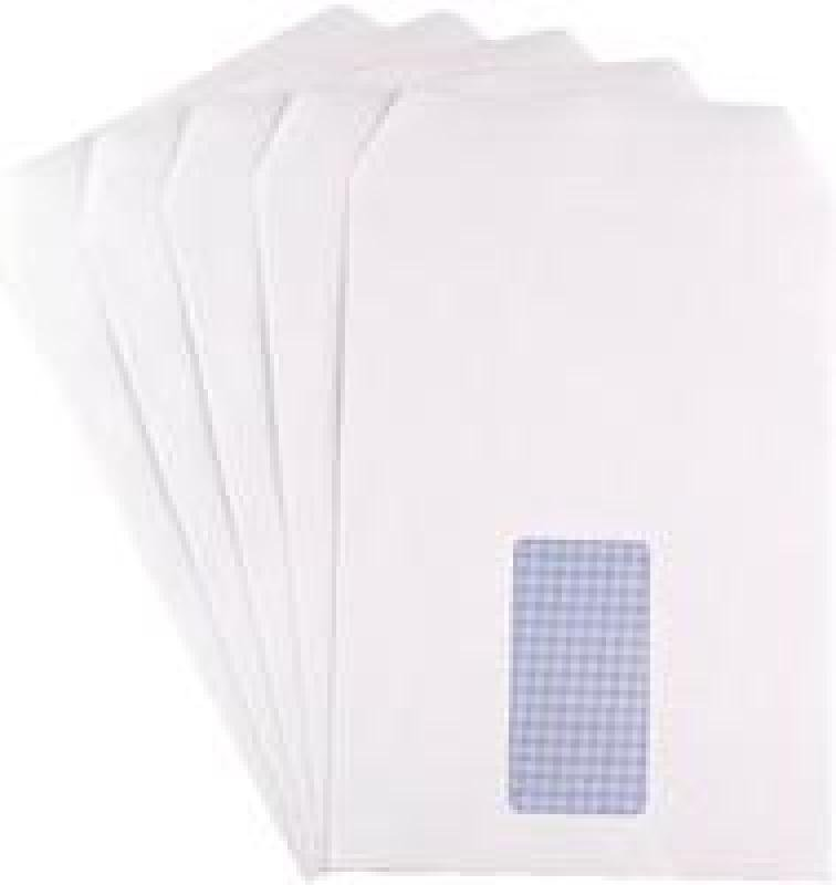 Q Connect Pkt C5 Wht Wdw Ss 90g Pk25 - 20 Pack