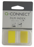 Q CONNECT PAGE MARKER 1IN 50 SHTS YELLOW
